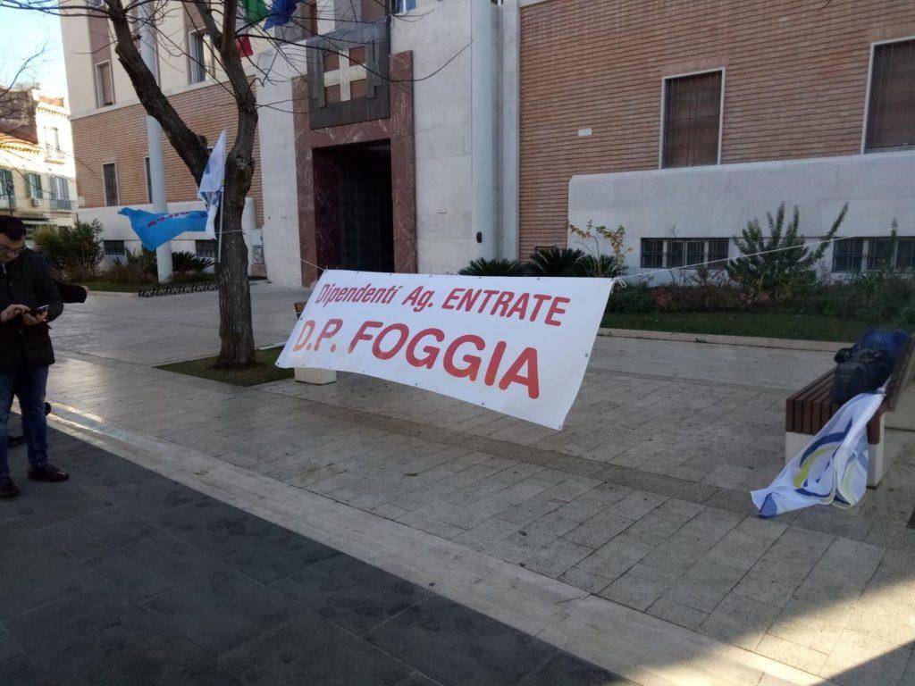 foggia-sciopero-agenzia-entrate